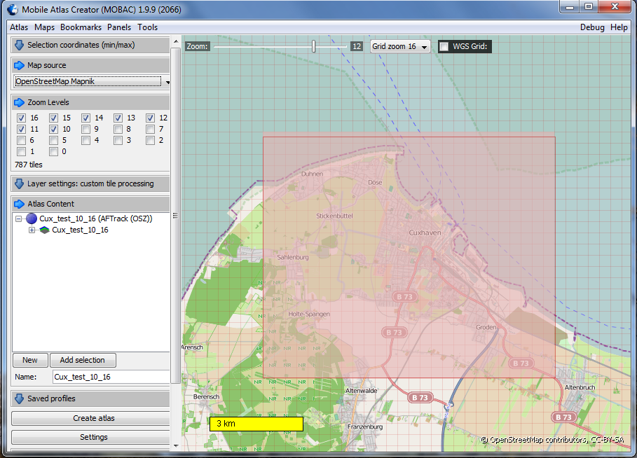 Creating offline maps for AFTrack GPS Tracking